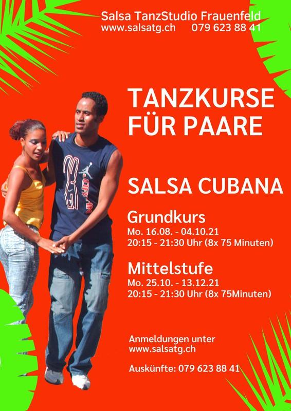 Salsa Cubana - Grundkurs für Paare